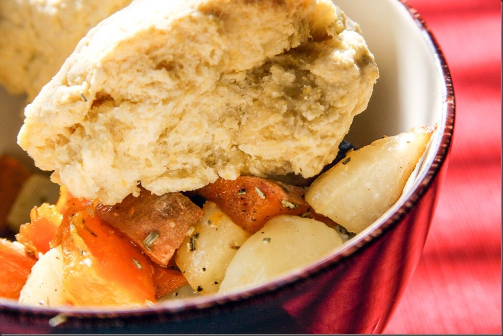 1-21-2016 - Roasted Root Veg and Cornmeal Biscuits (1 of 1)